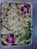 <p><strong>Our homemade potato salad!</strong></p>